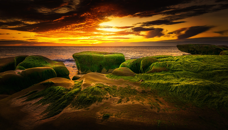 Sunset & Dawn on Whitley Bay Beach (16).jpg