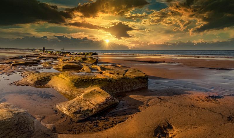 Sunset & Dawn on Whitley Bay Beach (14).jpg