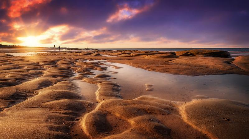 Sunset & Dawn on Whitley Bay Beach (13).jpg