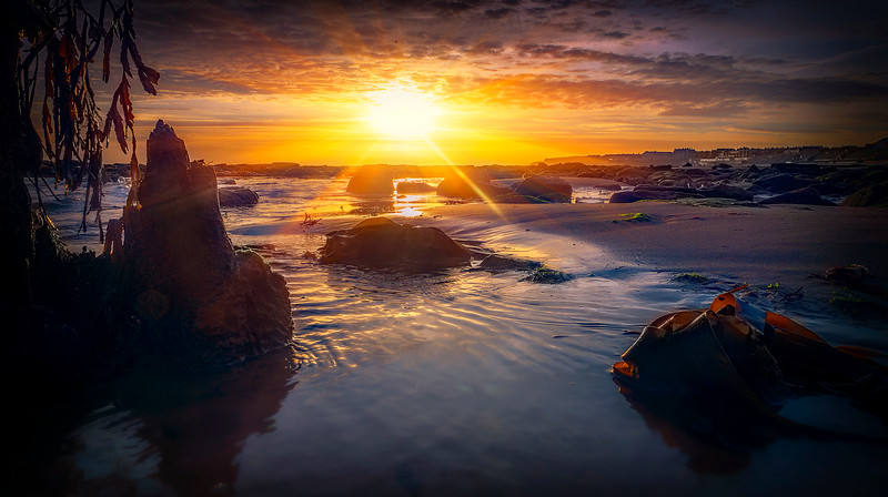 Sunset & Dawn on Whitley Bay Beach (26).jpg