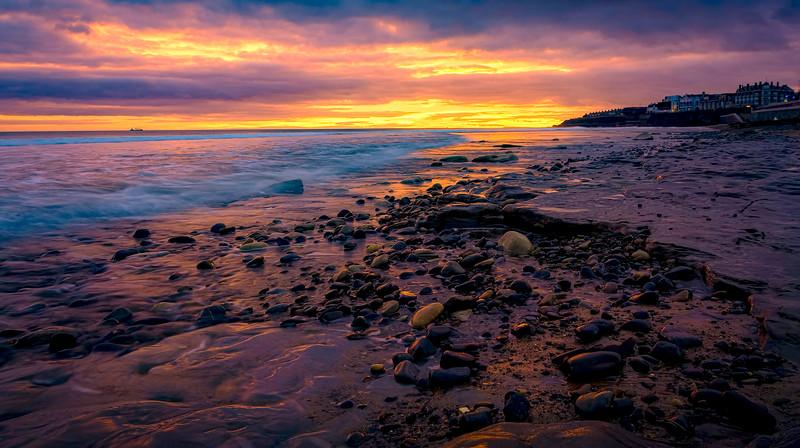 Sunset & Dawn on Whitley Bay Beach (2).jpg