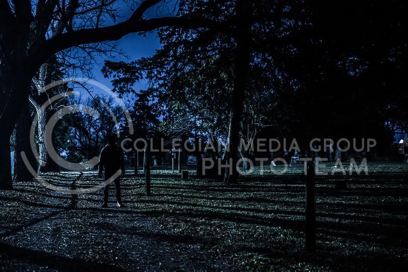 Sunset Cemetery in Manhattan Kansas (Photo by Cooper Kinley | Collegian Media Group)