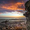 Sunset Cliffs Surfer