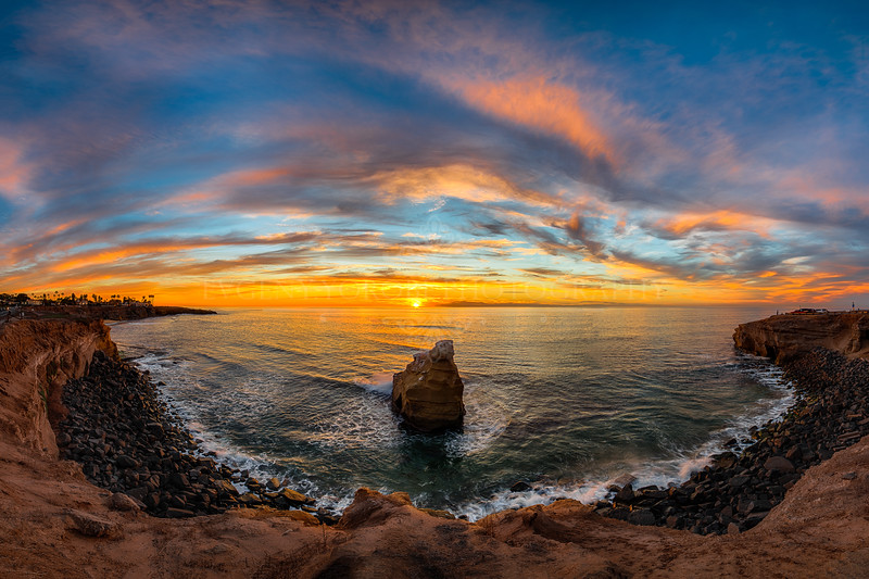 Sunset Cliffs Panoramic
