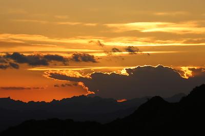 Sunset Jan 19 2017 Quartzsite AZ