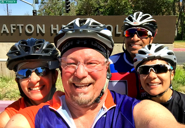 Sunset Loop and Crafton Hills College Ride, Redlands and Yucaipa CA July 2, 2016