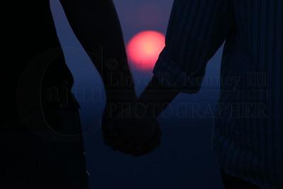 Sunset Photos on Lookout Mountain