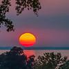 KM 4 - Sunset dropping Into Lake Winnebago