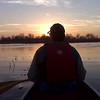 Terrells Island Fisherman at Sunset in Oshkosh