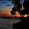 MH - Sunrise Over Pier on Upper Fox River