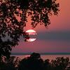 KM sunset-3 - Fall Sunset on Lake Winnebago