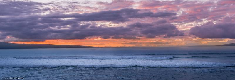 West Shore Maui sunset