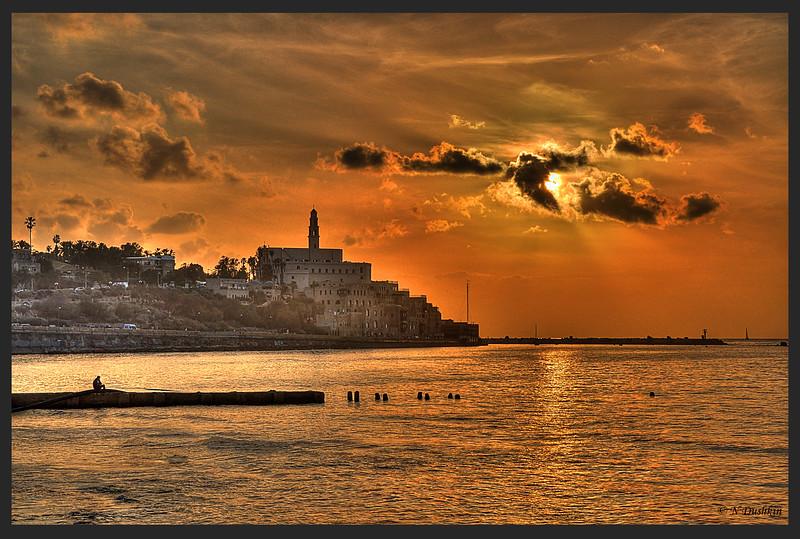 Old City of Jaffa Sunset