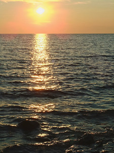 Down at the Lake at Sunset 3