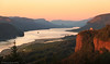 Sunrise at Columbia River Gorge, Oregon