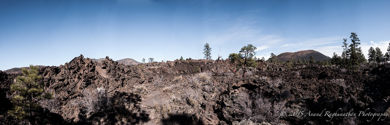 Lava Field into Sunset Crater