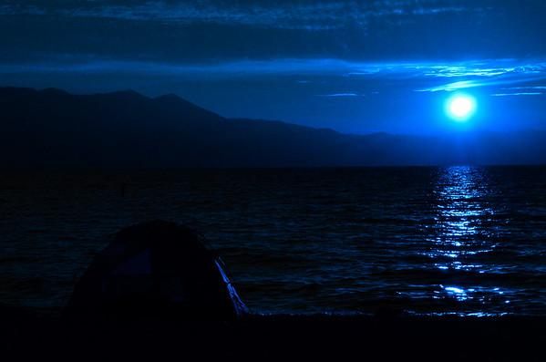 Sunset in Lake Tahoe
