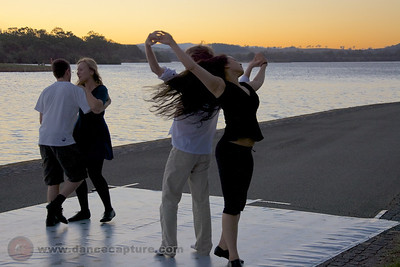 Sunset Dancing (Zouk ao Pôr do Sol) - 21 Feb 2014