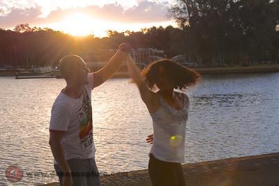 Sunset Dancing (Zouk ao Pôr do Sol) - 31 Jan 2014
