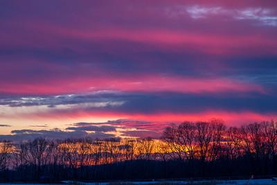 Hamilton Park Sunset