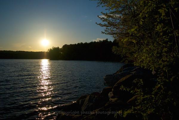Lake Auburn Sunsets