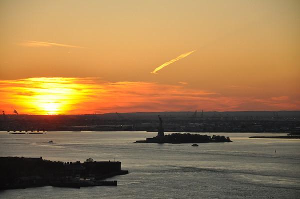 Sunset 20111030