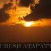 Sunset over Mount Lavinia