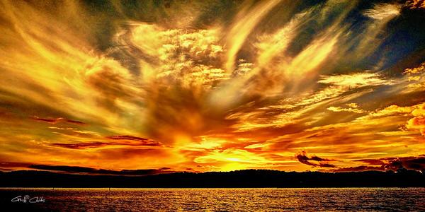 Flames of Gold Sunrise.
