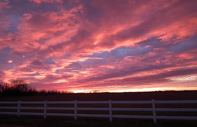 Dec 26th - Amazing sunset