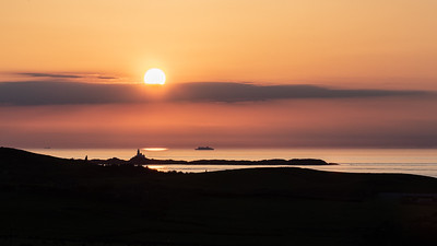 Sunset over The Skerries