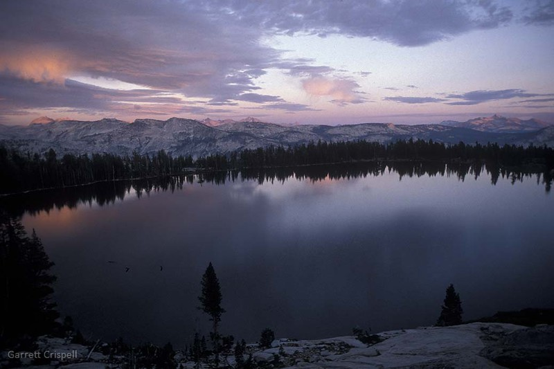 May Lake Sunset I