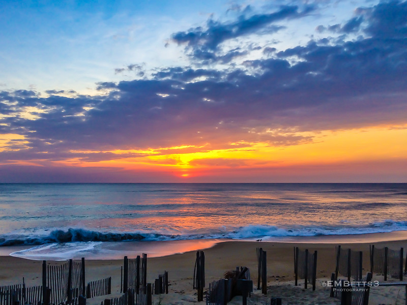 Sunset in the Outer Banks