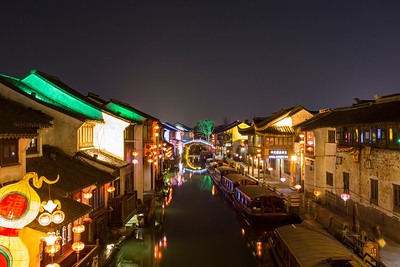 Shan Tang Street (山塘街). Suzhou, Jiangsu, China (苏州,江苏,中国)