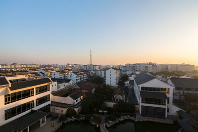 Sunrise. Suzhou Central Hotel. Suzhou, Jiangsu, China (苏州,江苏,中国)