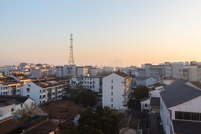 Sunrise. Suzhou Central Hotel. Suzhou, Jiangsu, China (苏州,江苏,中国)