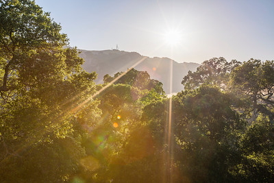 HDR Composition. Sunset. Pleasanton Ridge Regional Park - Sunol, CA, USA