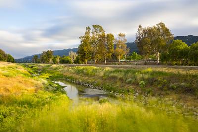 Sunset. Arroyo Del Valle Trail - Pleasanton, CA, USA