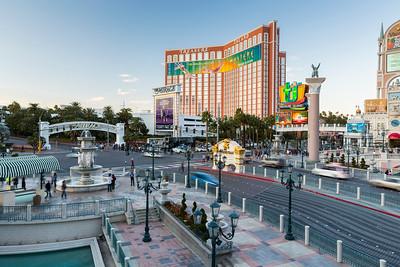 Treasure Island. Grand Canal Shoppes. Las Vegas, NV, USA