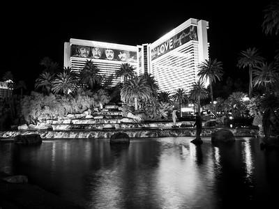The Mirage. South Las Vegas Blvd. Las Vegas, NV, USA