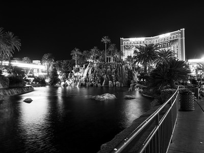 The Mirage & Treasure Island. South Las Vegas Blvd. Las Vegas, NV, USA