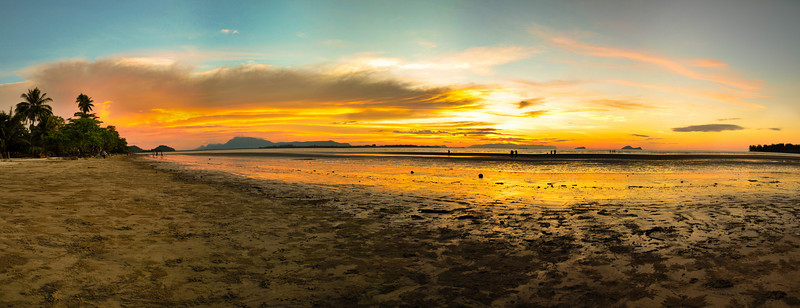 Sunset @ Puteri Beach Panorama #1