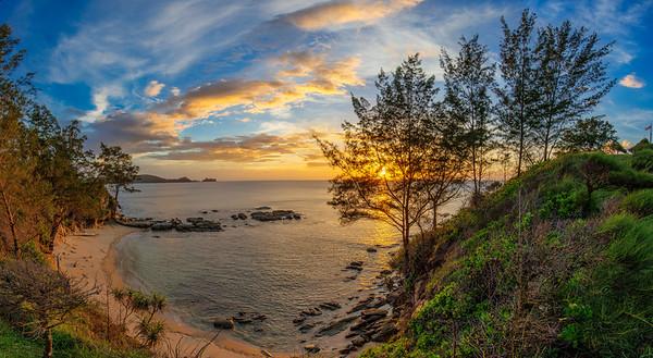 Sunset at Simpang Mengayau, Kudat, Sabah, Malaysia