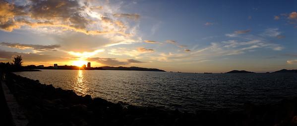 Sunset in Kota Kinabalu, Sabah, Malaysia