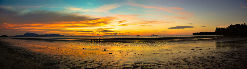 Sunset @ Puteri Beach Panorama #2