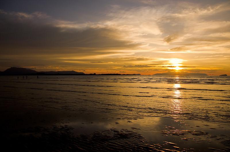 Sunset @ Pantai Puteri, Santubong