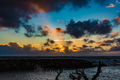 Sunrise in Kapa'a - Kauai, Hawaii