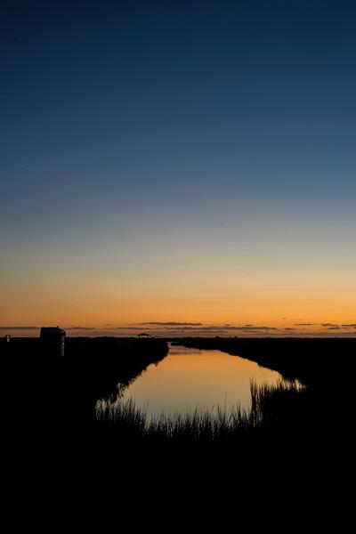 Brazoria Sunrise Reflected