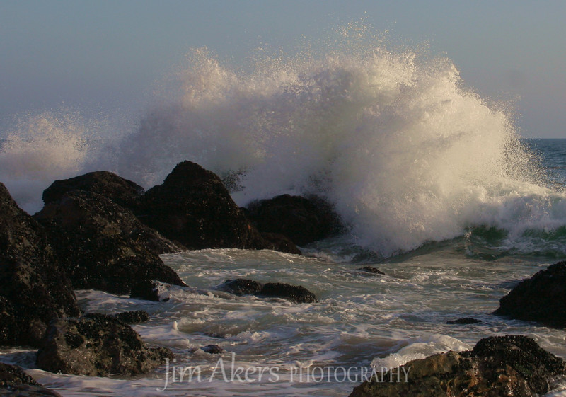 PT. Dume, California <br /> Great place to take pictures of land, ocean, sky, birds and people.  Good walking areas go when close to low tide and you can walk on the beach and see the star fish embedded in the rocks.