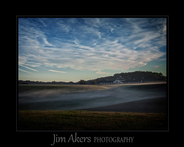 """Early Morning Burnoff""  This shot was taken in the Aberdeen, Md area. I was on my way to Conowinga Dam to photograph Bald Eagles etc.. This photo is on the cover of a CD and it recently garnered a 1st place in Landscape at the Santa Clarita Valley Photographers Association."