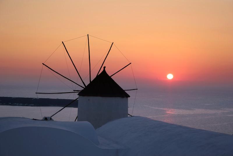 Santorini Sunset 174